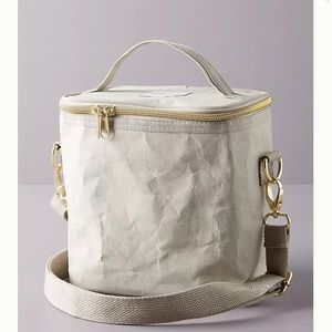New Anthropologie SoYoung Lunch Poche Bag